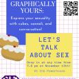 Graphically Yours: Express your sexuality with cubes, cannoli, and conversation!