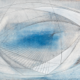 Image caption: Barbara Hepworth, Project for Wood and Strings, Trezion II, 1959. Oil, gesso, pencil on board. 14 7/8 x 21 1/8 inches. Mead Art Museum, Amherst College, Amherst, Massachusetts; Gift of Richard S. Zeisler (Class of 1937) (1960.1). © Bowness.