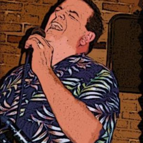 Illustration of vocalist Chris Humphrey