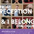 The background of the poster includes photos of various Amherst students. Join the Office of Diversity and Inclusion on November 27th from 4 to 6pm in the Center for Humanistic Inquiry for the third #AmherstIBelong campaign and dialogue.