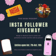 The SHEs present...Insta Follower Giveaway! Entries open Oct. 7th-Oct. 11th