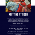 Knitting at noon 2018-2019 Image
