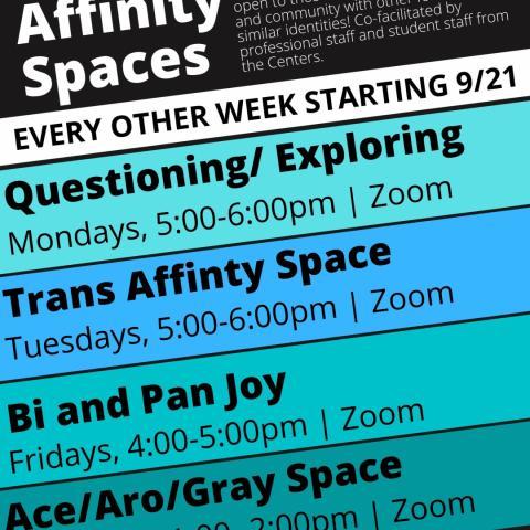 QRC LGBTQ+ Affinity Space Poster