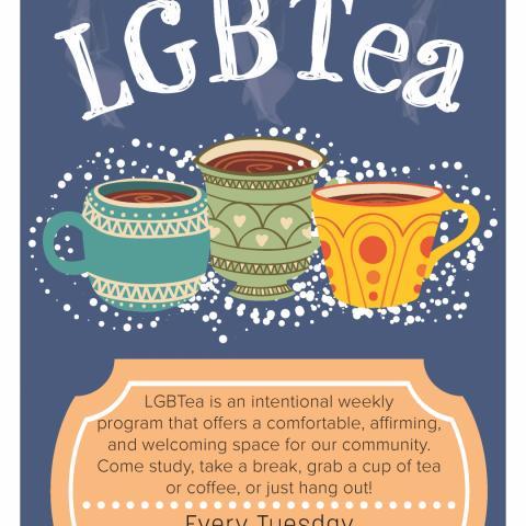 LGBTea, coffe and tea, late night study hours