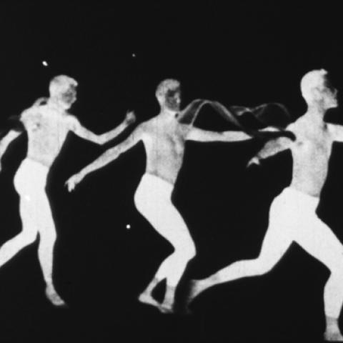 "Maya Deren, Still from ""The Very Eye of Night"" 1958, Copyright Anthology Film Archives."