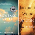 """Book covers: Chris Bachelder's """"The Throwback Special"""" on left and Jacqueline Woodson's """"Another Brooklyn"""" on right"""