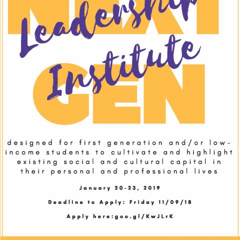 Next Gen Leadership Institute