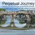 Event poster showing a blurry photo of a bridge and its reflection in a body of water