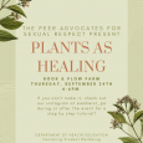 Plants as Healing