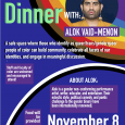 QTPOC Dinner with Alok Vaid-Menon