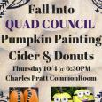 Quad Council Pumpkin Painting Cider & Donuts
