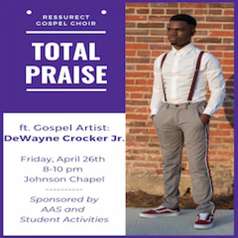 Resurrect Gospel Choir Spring 2019 Concert