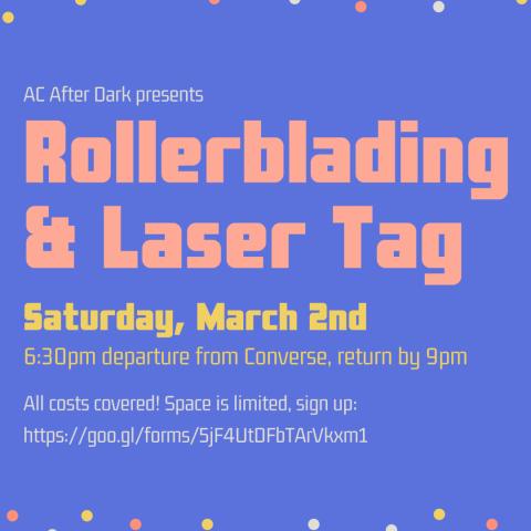 rollerblading poster