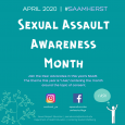 Sexual Assault Awareness Month 2020 #SAAMherst
