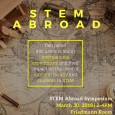STEM Abroad Symposium featuring Amherst faculty and students