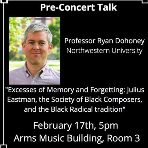 Ryan Dohoney at Amherst College, Feb. 17