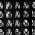 "Jonathan Jackson, ""Evan, Make-Up Contact Sheet,"" 2015."
