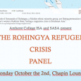 Rohingya Refugee Crisis Panel