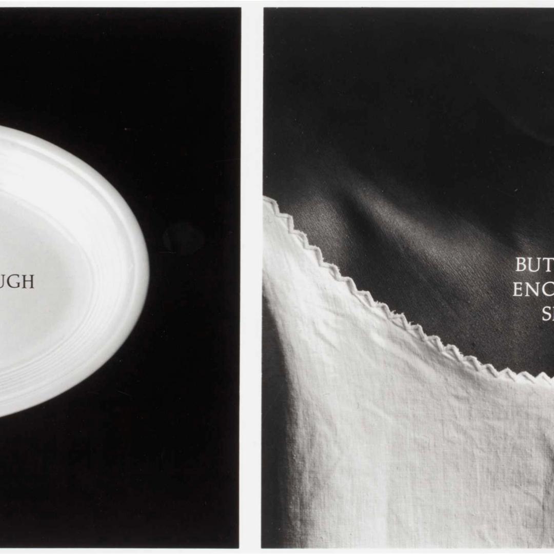 Lorna Simpson, C-ration, 1991.