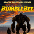 Poster showing Bumblebee movie poster promoting campus showing