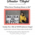 Secular Chapel: What Greta Thunberg Means to Me