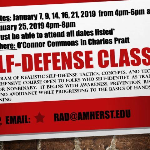 RAD Self-Defense Classes