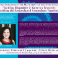 Event flyer including a headshot of Lori Chibnik