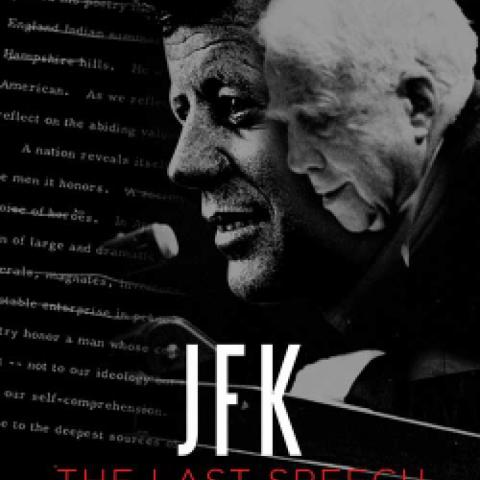"""JFK: The Last Speech"" film poster"