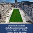 University of Edinburgh - Poster