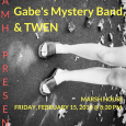 WAMH Presents: Carinae, Gabe's Mystery Band, and TWEN