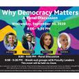 Why Democracy Matters: A Panel Discussion
