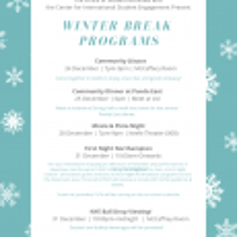 Winter Break Programs Graphic