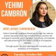 Artist Talk with Yehimi Cambron
