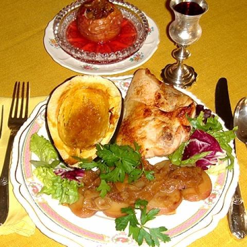 Yom Kippur Pre-Fast Meal