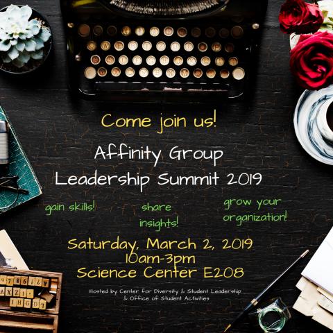 Affinity Group Leadership Summit 2019