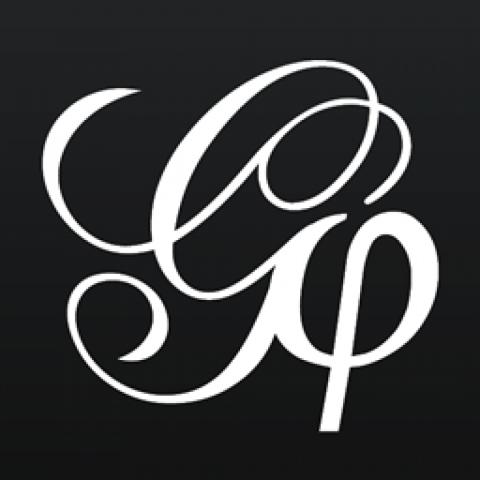 A script G and a phi