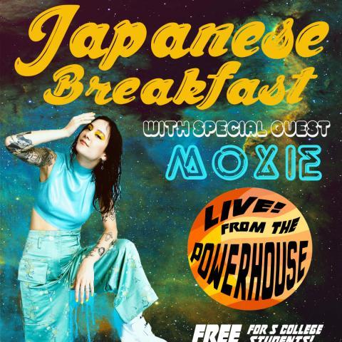 Japanese Breakfast Promotional Poster