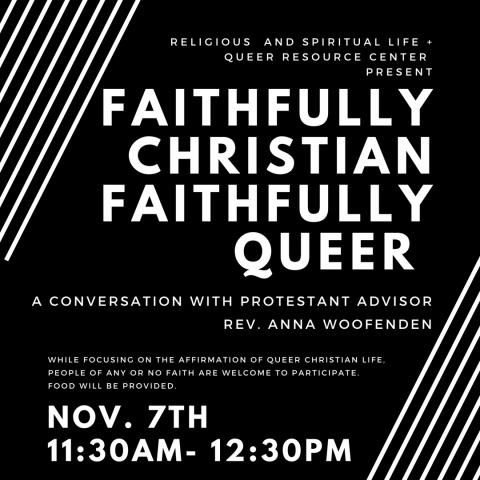 Thumbnail, Faithfully Christian Faithfully Queer