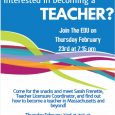 Interested in becoming a TEACHER?