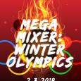 olympics themed party poster