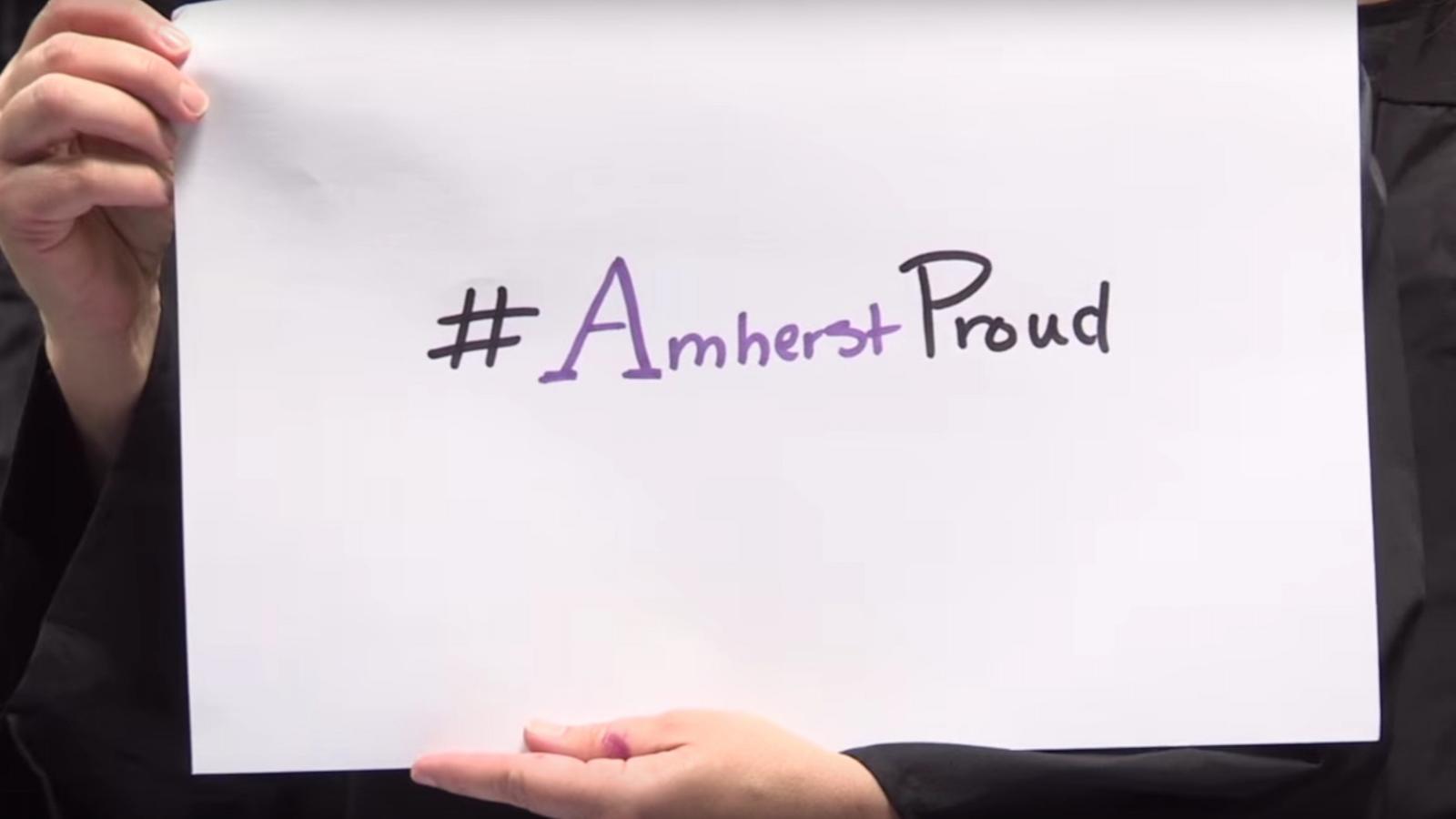 #AmherstProud