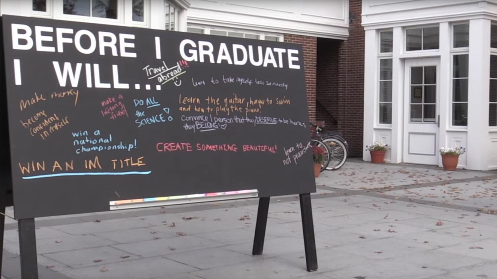 Before I Graduate
