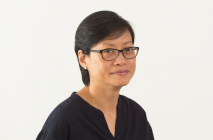 A photo of Katherine Chia against a white background