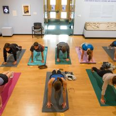 Yoga at the Mead!