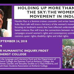 Holding up More than Half the Sky: The Women's Movement in India