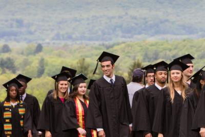 Amherst Commencement Photo