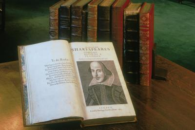 First Folio at Folger Shakespeare Library