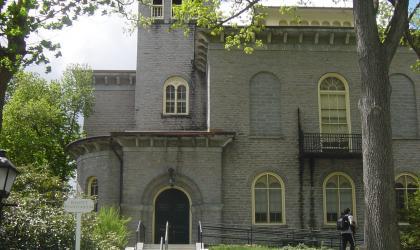Bassett Planetarium, Morgan Hall