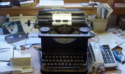 Richard Wilbur's typewriter