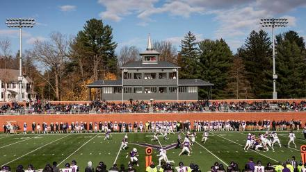 Amherst vs. Williams football game